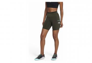 Short Femme Nike Epic Luxe Trail Vert