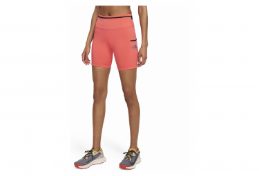 Short Femme Nike Epic Luxe Trail Rouge