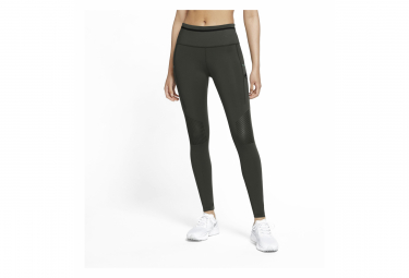 Collant Long Femme Nike Epic Luxe Trail Vert