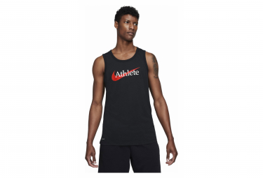 Camiseta Sin Mangas De Entrenamiento Nike Dri Fit Negro M