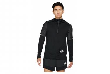 Maillot à Capuche Nike Dri-Fit Element Trail Noir