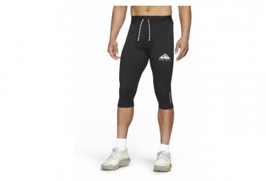 Collant 3/4 Homme Nike Dri-Fit Trail Noir