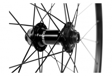Paire de Roues Shimano RS171 Disc 700c   12x100 - 12x142mm   Centerlock