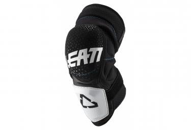 Leatt 3DF Hybrid Short Knee Guards White / Black