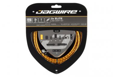 Jagwire 2x Elite Link Shift Kit Dorado