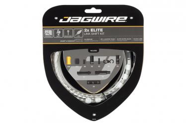 Kit de cambio Jagwire 2x Elite Link plateado