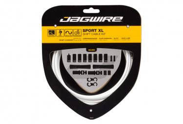 Kit de cambio Jagwire Sport XL blanco