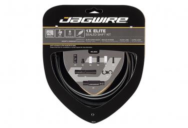 Jagwire 1x Elite Sealed Shift Kit Stealth Black