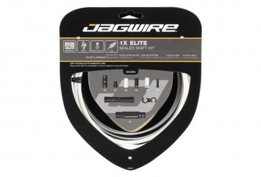 Jagwire 1x Elite Sealed Shift Kit Stealth White