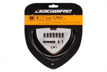 Kit Câble et Gaine Jagwire 1x Sport Shift Kit Noir