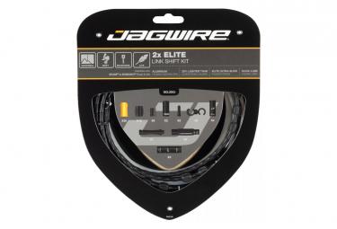 Kit De Cambio Jagwire 2x Elite Link Negro