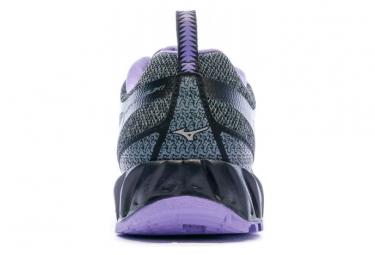 Chaussures de Trail Gris/Violet Femme Wave Ibuki