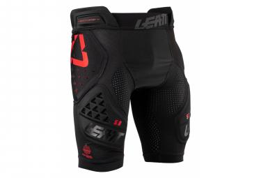 Pantalones Cortos De Proteccion Leatt 3df 5 0 Negro   Rojo Xl