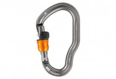 Petzl Vertigo Wire-Lock Karabiner Grau