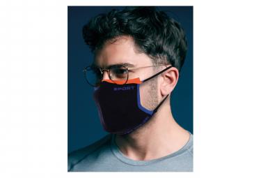 Thuasne Sport Masque Activ Security Sport V2 Bleu Orange