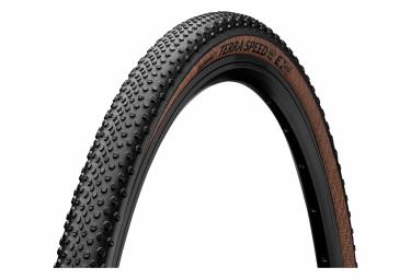 Continental Terra Speed 700 mm Cubierta de grava Tubeless Ready Plegable ProTection Compuesto BlackChili Transparente Sidewall E-Bike e25