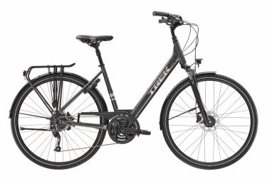 TrekVerve 2 Equipped Womens City Bike  Gris / Argent