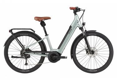 Bicicleta Electrica De Ciudad Cannondale Adventure Neo 2 Eq 650b Shimano Shimano 8v 500wh Gris Salvia S   149 170 Cm