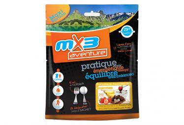 Comida Liofilizada Mx3 Fondue De Chocolate Con Frutas Crujientes 190g