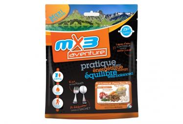 Repas Lyophilisé MX3 Bœuf Bourguignon et Pâtes 140 g
