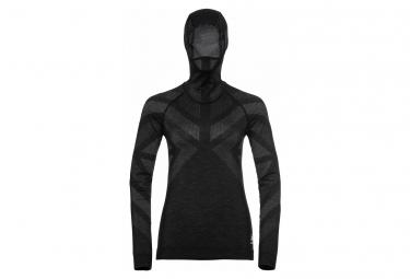 Camiseta Con Capucha Mujer Odlo Natural Xs