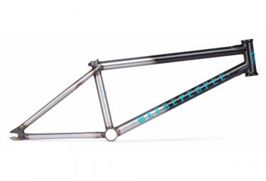 WeThePeople Pathfinder BMX Rahmen Schwarz / Silber