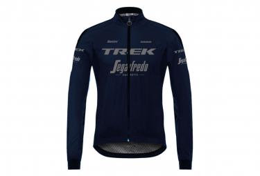 Chaqueta Impermeable Santini Pro Team Trek Segafredo Azul Marino M