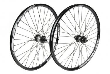 Paire de roue EXCESS XLC-1 pro lite/pro 507x28mm 36h black