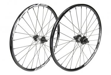 Paire de roue EXCESS XLC-2 mini/expert 451x19.5mm 28h black