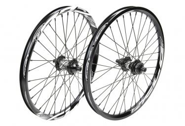 Paire de roue EXCESS XLC-1 pro lite/pro 406x28mm 36h black