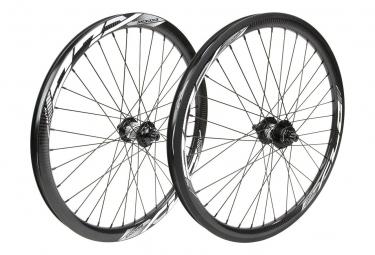 Paire de roue EXCESS XLC-3 pro lite/pro 507x28mm 36h black