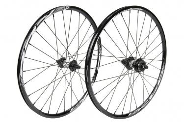 Paire de roue EXCESS XLC-1 mini/expert 451x19.5mm 28h black