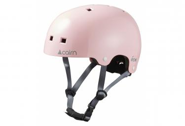 Casco Cairn Eon Shiny Powder Rosa M  55 58 Cm