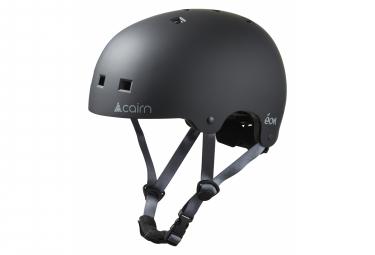 Casco Cairn Eon Negro Mate   Gris S  52 55 Cm