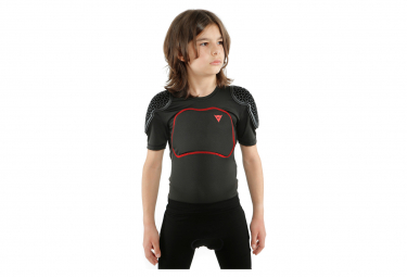 Dainese Scarabeo Pro Tee Kids Protector with Back Protector Black / Red