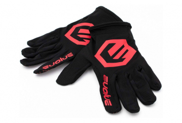 Par De Guantes Evolve Send It Negro   Rojo M