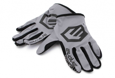 Par De Guantes Evolve Send It Negro   Gris Xl