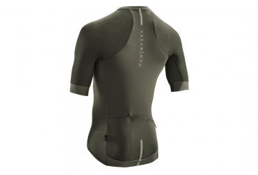 Van Rysel Racer Khaki Short Sleeve Jersey