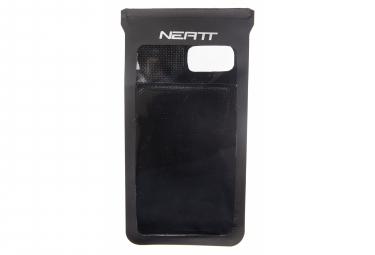 Neatt XL Wasserdichter Smartphone-Halter und Schutz 20,5 x 10 cm Schwarz