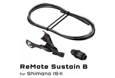 Commande de Tige de Selle Wolf Tooth ReMote Rockshox Reverb B-Post Shimano I-Spec II Noir