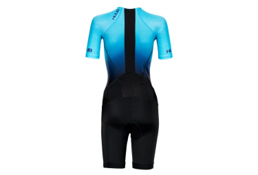 Huub Commit Women's Trisuit Long Blue / Black