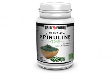 Compléments Eric Favre Spiruline Vegan Bio 100 comprimés