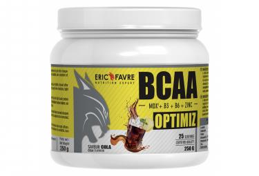 Boisson Eric Favre Bcaa Optimiz 250g Cola