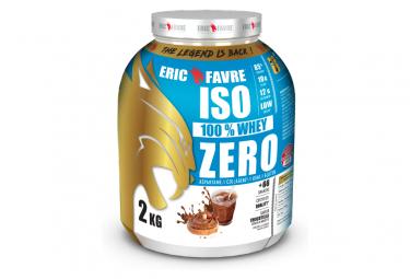 Boisson protéinée Eric Favre Iso Zero 2kg Chocotella