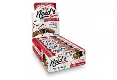Barre protéinée Eric Favre Need's Crunchy 40g Chocolat