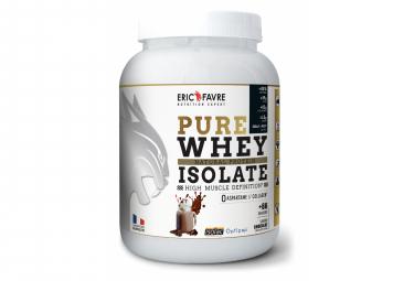 Boisson protéinée Eric Favre Pure Whey Isolate 2kg Chocolat