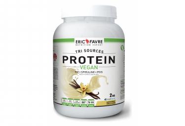 Boisson protéinée Eric Favre Proteine Vegan 2kg Vanille