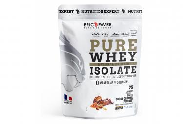 Boisson protéinée Eric Favre Pure Whey Isolate 750g Choco-Caramel