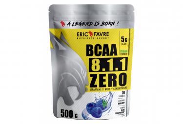 Boisson Eric Favre Bcaa 8.1.1 Zero Vegan 500g Blue Raspberry