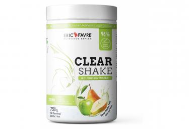 Boisson protéinée Eric Favre Clear Shake Isolate Protein Water 750g Pomme / Poire